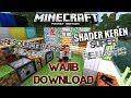SHADER+RESOURCE PACK REALISTIC DAN SUPER SUPER KEREN !!! MINECRAFT PE