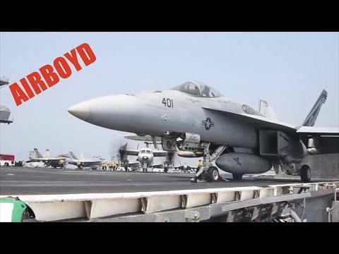 Flight Deck Operations USS Dwight D. Eisenhower (CVN-69)