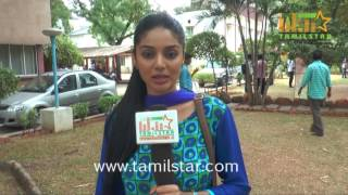 Sanam Shetty At Thagadu Movie Team Interview