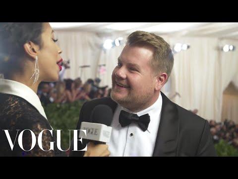 James Corden on Ocean's 8 and the Met Gala   Met Gala 2018 With Liza Koshy   Vogue