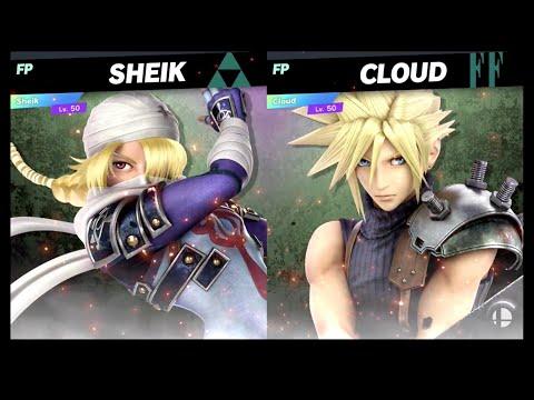 Super Smash Bros Ultimate Amiibo Fights – 9pm Poll Sheik Vs Cloud