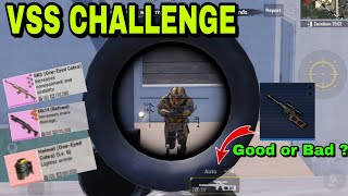 Metro Royale VSS Challenge in Advanced Mode / PUBG METRO ROYALE CHAPTER 3
