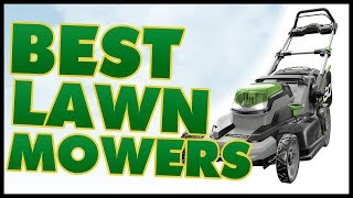 10 Best Lawn Mower For The Money Reviews 2017
