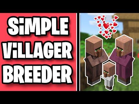 Simple Villager Breeder In 1.15