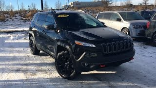2016 Jeep Cherokee Trailhawk | Panoramic Sunroof | Edmonton AB | 18JC8418A | Crosstown Auto Centre