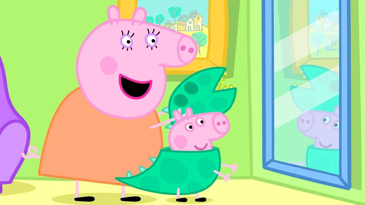 Peppa Wutz   Suche nach Mr. Dinosaur   Peppa Pig Deutsch Neue Folgen   Cartoons für Kinder