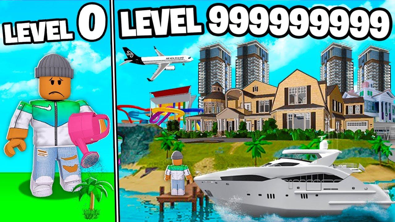 I BUILT A LEVEL 999,999,999 ROBLOX TROPICAL RESORT