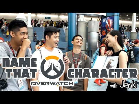 Name That Overwatch Character - With Jenki - Anime Expo 2016