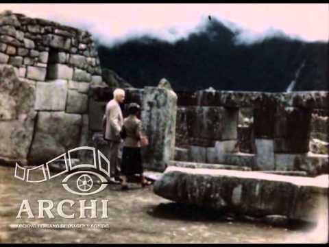 Hiram Bingham regresa a Machu Picchu - 1948