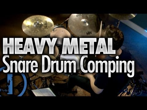 heavy metal drumming snare drum comping youtube. Black Bedroom Furniture Sets. Home Design Ideas