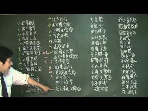 147 歴代総理大臣の覚え方(ゴロ合わせ)日本史ストーリーノート第15話