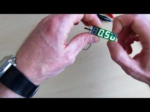 Часы, вольтметр, термометр. 3 в 1. Из Китая(AliExpress)