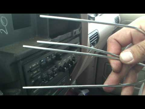 Ford Ranger Factory Radio Removal