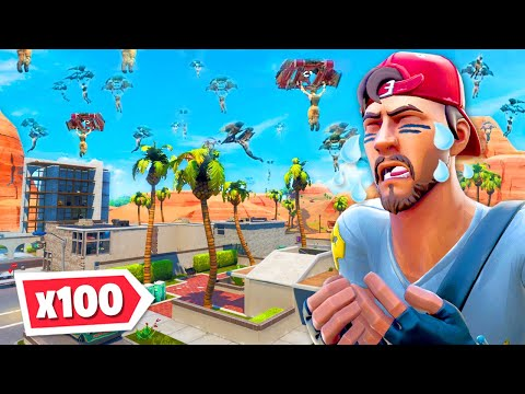 100 Players Say GOODBYE To Paradise Palms... RIP!