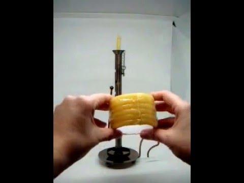 Courtship candle