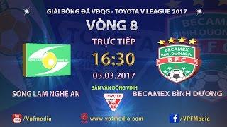 Song Lam Nghe An vs Binh Duong full match