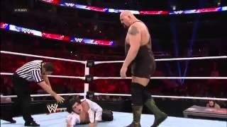 WWE Raw 12/31/12 Full Show Ricardo Rodriguez vs Big Show (World Heavyweight Championship Match)