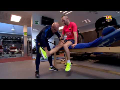 Andrés Iniesta's recovery for the Clásico