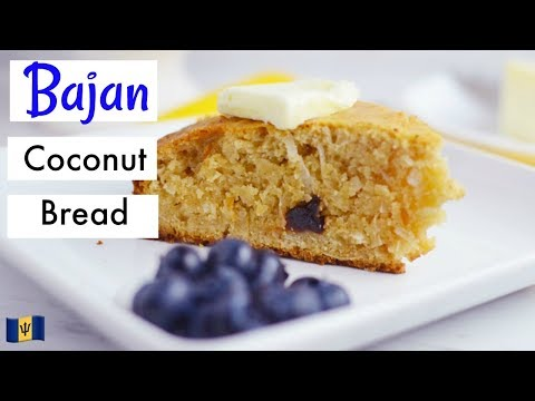 How To Make Bajan Coconut Bread