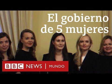 Finlandia: el único país del mundo liderado por 5 mujeres