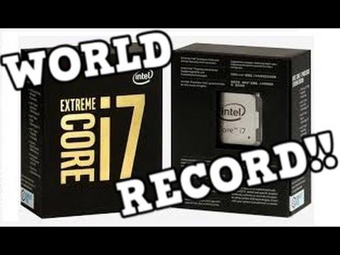 TeamAU Intel Core i7 6950X PAX Australia OC Overclocking WORLD RECORD 5.744GHz