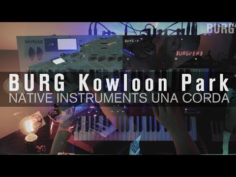 BURG - kowloon park (Native Instruments Una Corda)