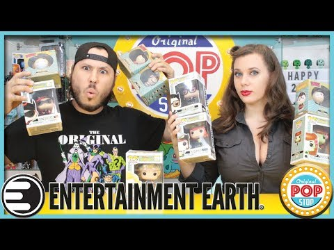 HUGE FUNKO HAUL from Entertainment Earth! DC Bombshells | Wonder Woman, Batgirl, Catwoman & MORE