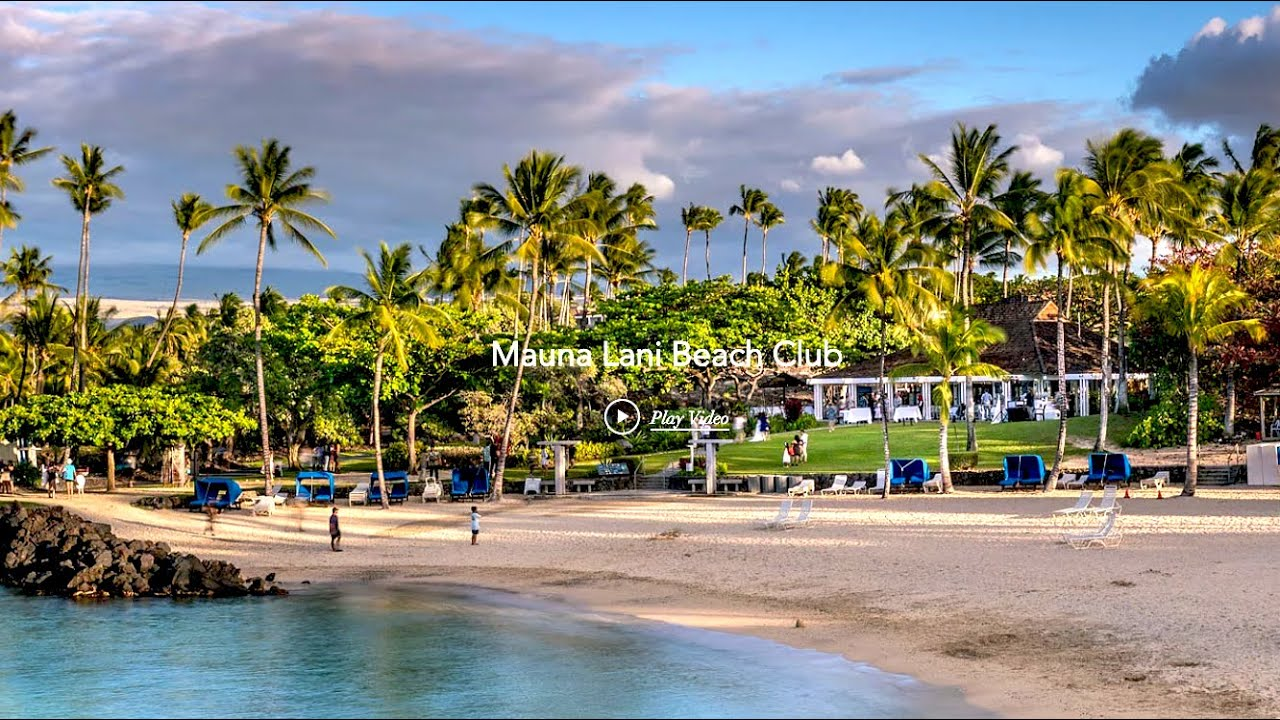 TIme Lapse Hawaii Beach- Auberge Hotel - Mauna Lani Resort - Big Island