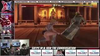 Dead or Alive 5 Ultimate - ManilaSunrise vs ThatOneAznJosh - Twin Galaxies Live Tournament
