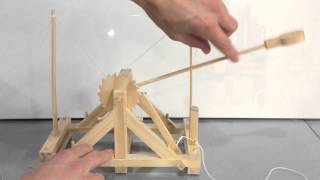 Build A Leonardo Da Vinci Toy Catapult Kit - Awesome Kids Toy