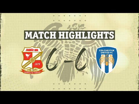 Swindon Colchester Goals And Highlights