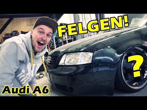 AUDI A6   NEUE FELGEN + ERSTE FAHRT!