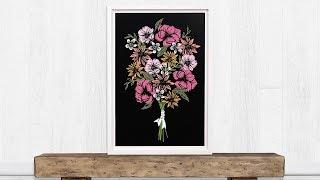 Floral Bouquet: Erstellen Sie Ihr Einzigartiges Design