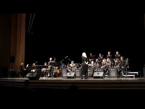 CU's Thompson Concert Jazz Ensemble With M. Schneider - Feb 15, 2018 @ Macky  - Wyrgly