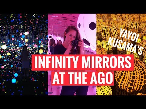 EXPLORING TORONTO | Infinity Mirrors at the AGO