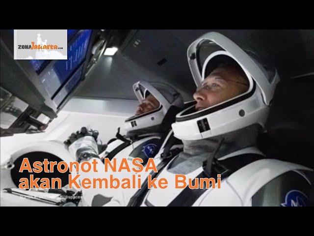 Astronot NASA, Bob Behken dan Doug Hurley akan kembali ke Bumi.