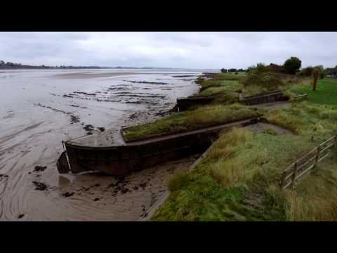 Ship graveyard in gloucestershire - shipwrecks on the Severn