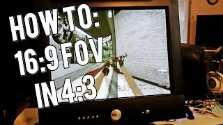 CS:GO : How to have a wider FoV in 4:3 aspect ratio