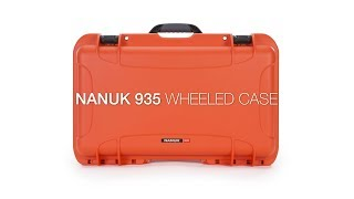 Nanuk 935 Waterproof Hard Case With Foam Black GARANSI RESMI