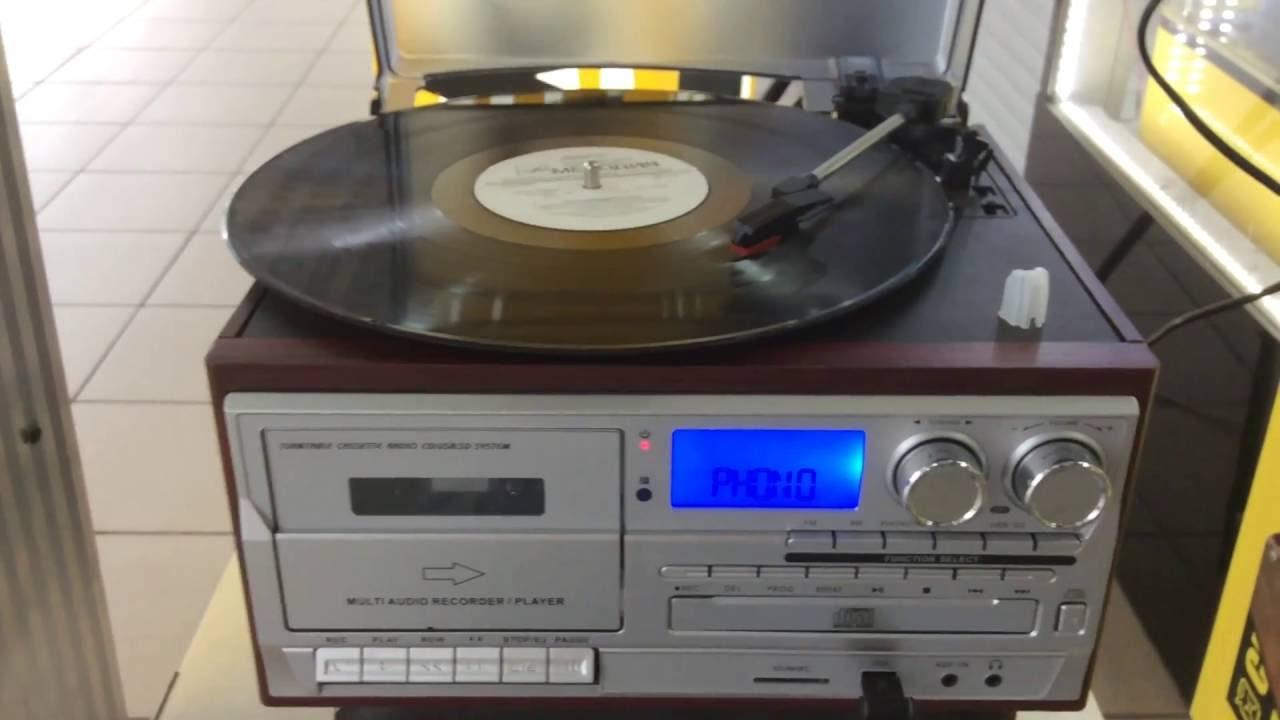 Проигрыватель компакт дисков Вега 122 стерео - YouTube