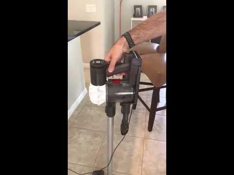 Dyson SV03 V6 Cordless Vacuum problem - first video