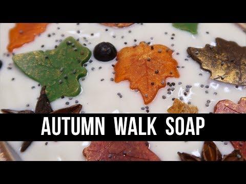 🍂 Autumn Collection - Autumn Walk Soap 🍂 | Royalty Soaps