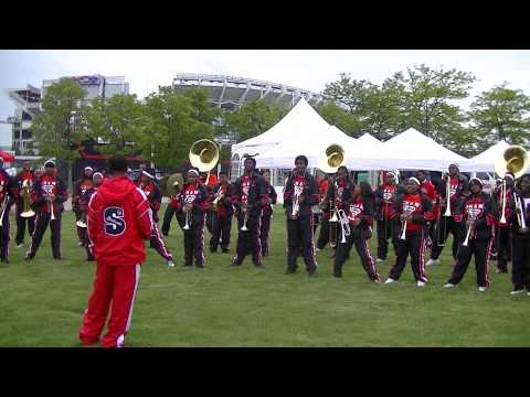 Shaw High School Marching Band at Umoja Festival
