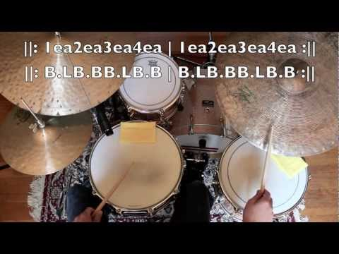 Drum Lesson - Introduction To Jazz Drumming - Part 2: The Jazz Shuffle