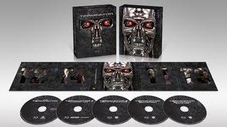 Terminator Anthology Best Buy Exclusive Blu-Ray Unboxing