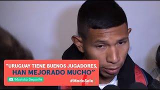 Edison Flores habló tras llegar a Argentina para incorporarse a la Selección Peruana