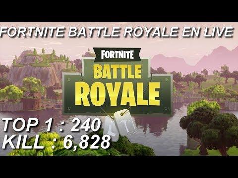 [FR/PC/LIVE] Fortnite  en solo 240 wins!