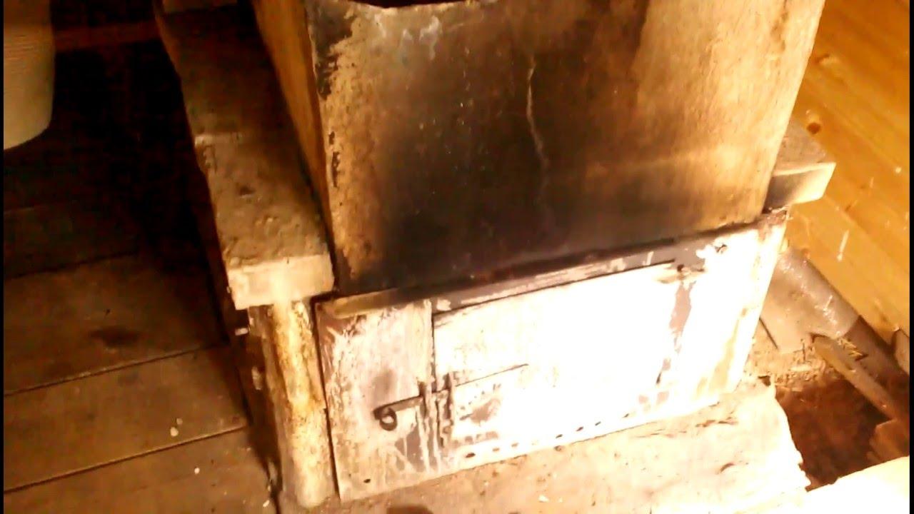 Печь для бани с прямым нагревом камней # Печь для Русской бани .