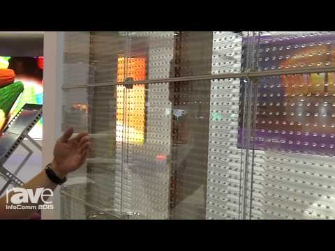 InfoComm 2015: Opto Tech Shows Their 16.6 Pitch Glass Panel