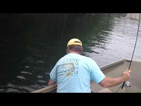 Jig Fishing Taneycomo, August 1